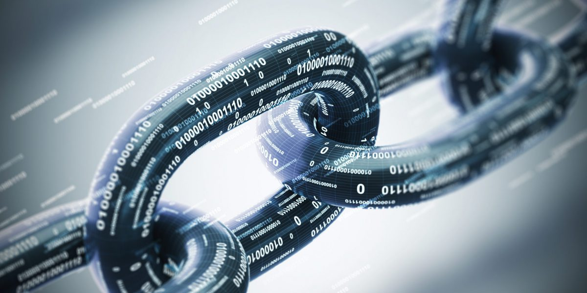 Cybersecurity Chain Links